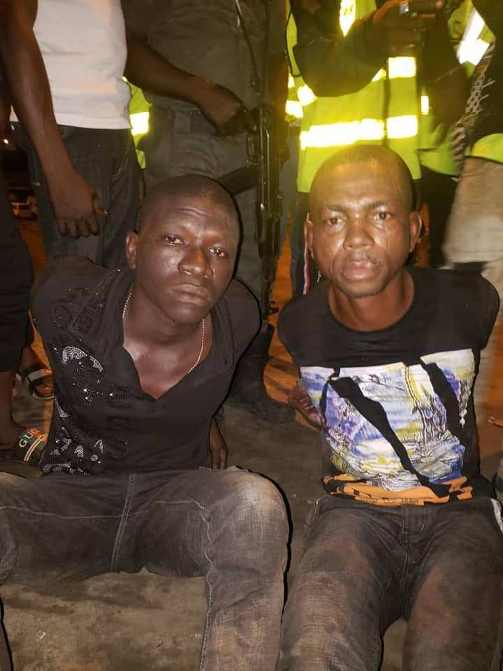 Robbers That Specialize In Stealing Cars In Lagos Traffic Arrested (Photos)