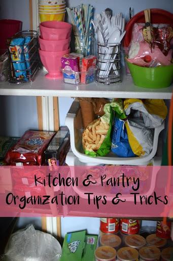 Kitchen + Pantry Organization Tips & Tricks