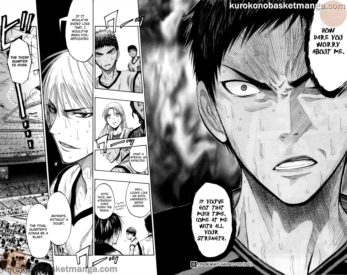 Kuroko no Basket Manga Chapter 70 - Image 17-18