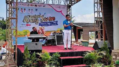 Erwin Yunaz Buka Festival Arung Jeram di Batang Agam