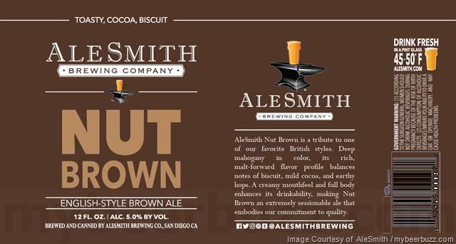 AleSmith Adding Nut Brown Ale 12oz Cans