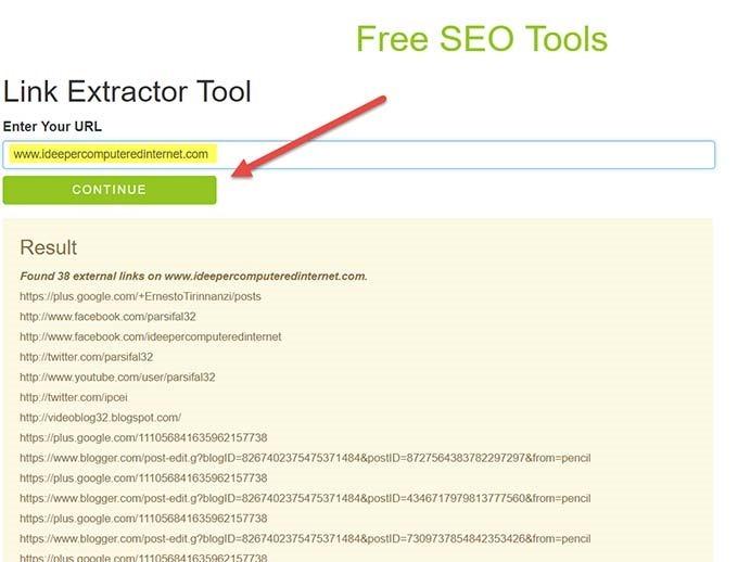link-extractor-tool