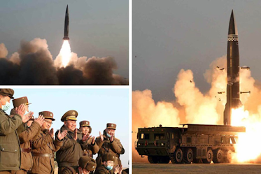 North Korea Successfully Launches it's Ballistic Missile