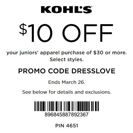 Kohls free shipping promo code november 2018
