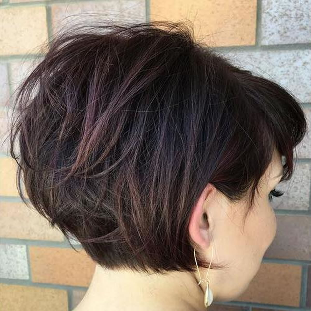 Cute short bob-pixie haircuts 2019-you will love! 10