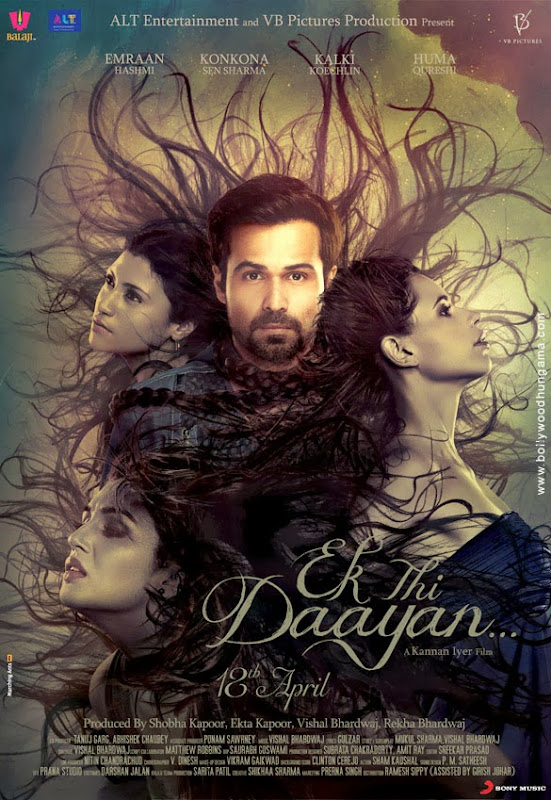 Cover of Ek Thi Daayan (2013) Hindi Movie Mp3 Songs Free Download Listen Online at Alldownloads4u.Com