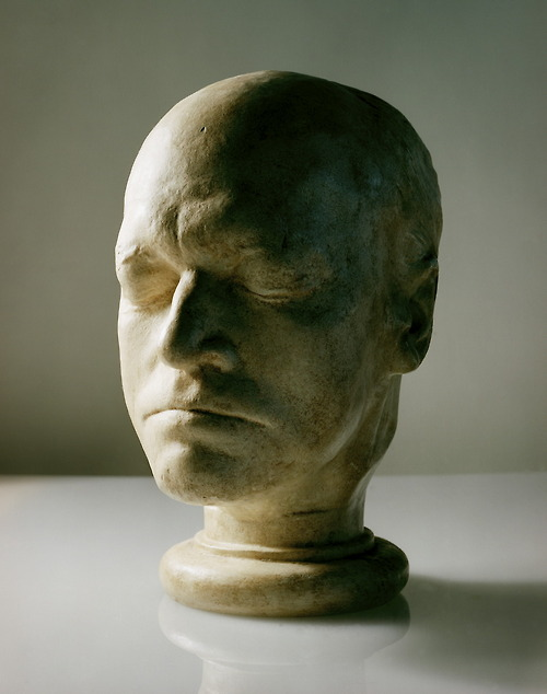 Life Mask Of William Blake At Age 65 By Js Deville 1823, William Blake