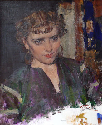 """Portrait of Marucia, a Russian singer"""