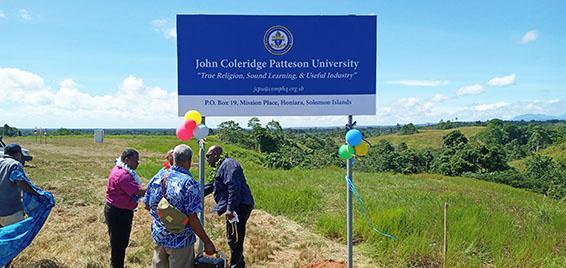 John Coleridge Patteson University unveiled in Solomon Islands