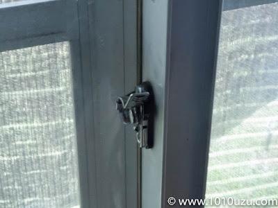 鍵がきちんとかかるか確認