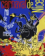 Carnaval de Nice affiche 2007