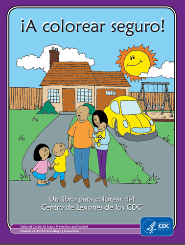 colorear   prevención de accidentes