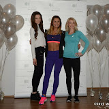 WWW.ENTSIMAGES.COM -       Heathly Eating expert Sophie Bradshaw, Samantha Faiers and personal trainer Nicole Attrill       attend a photocall to launch the new website Celebrity Training with Samantha Faiers at The Worx Studio's on January 6th 2015                                           Photo Mobis Photos/OIC 0203 174 1069
