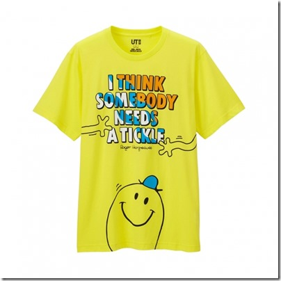 UNIQLO Mr. Men Little Miss UT Graphic T-Shirt man 03