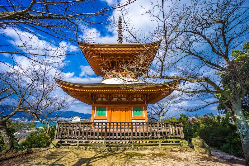 宮島 厳島神社 多宝塔