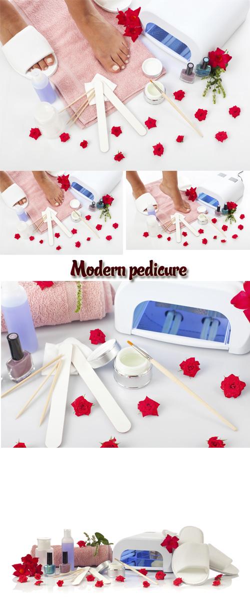 Stock Photo: Modern pedicure