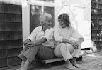 Molly Malone Cook and Mary Oliver. Photo by Barbara Savage Cheresh, from Our World (Beacon Press, 2007).