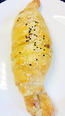 Ya Hala Lebanese Brunch hand-rolled croissants where you have a choice of chocolate halva or za'atar