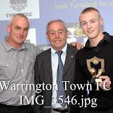 WarringtonTownFCAwardsPresentationGuestIanStJohn