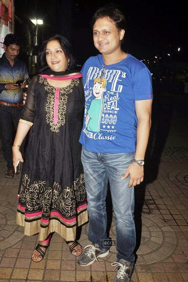 Guests during the screening of Poshter Boyz, in Mumbai, on July 30, 2014. (Pic: Viral Bhayani)