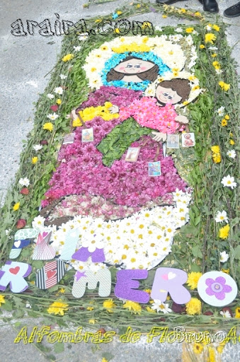 Alfombras de Flores Araira 2015