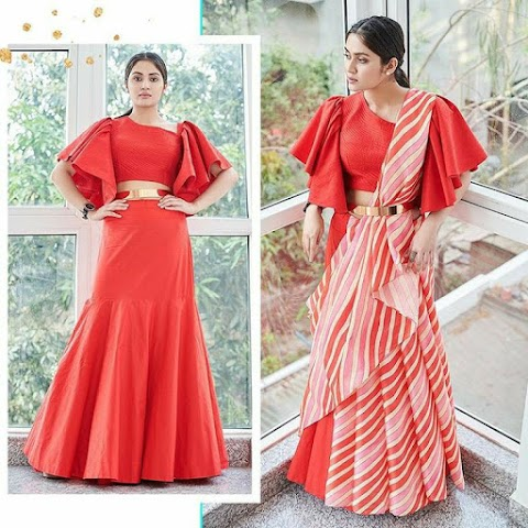 Contemporary Saree styling and Different Draping Style by Dolly jain !