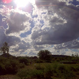 Big Sky over Mochudi.  Seen on my walk home from work
