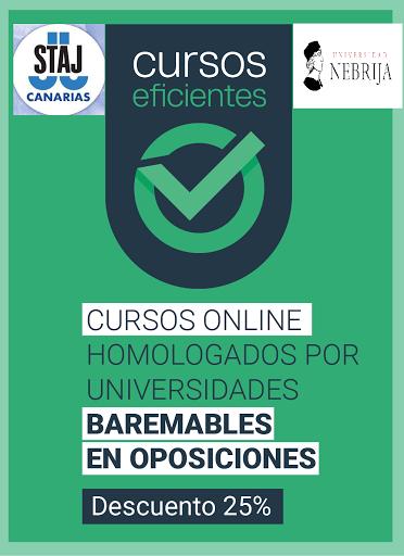 CURSOS ONLINE BAREMALBES EN OPOSICIONES Y BOLSA DE EMPLEO