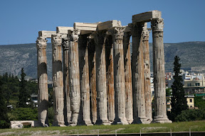 Columns of the Temple of Olympian Zeus, Athens