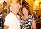 Evelyn Englert, Arts League president, and Cecilia Monacelli.