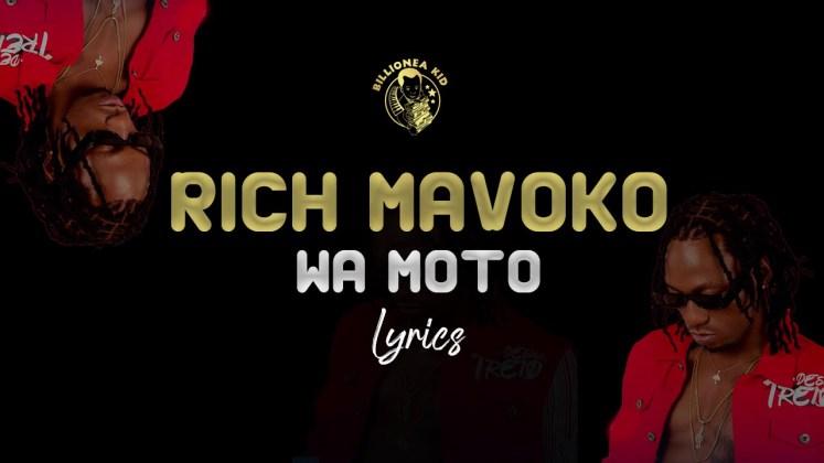 Rich mavoko - Wa Moto