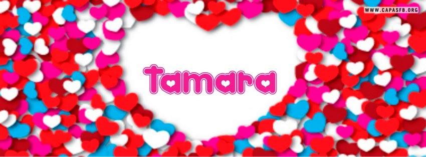Capas para Facebook Tamara