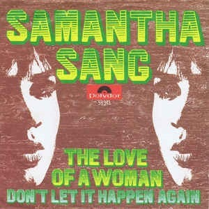 The Love of a Woman - Samantha Sang