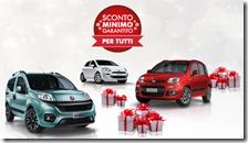 2.500 euro di sconto minimo garantito Fiat