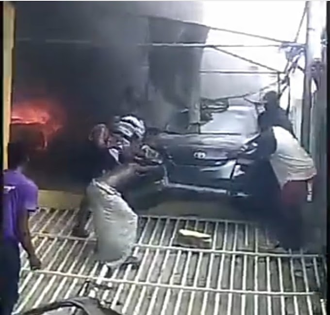 NNPC filling station fire destroyed 30 vehicles – LASEMA(photos)