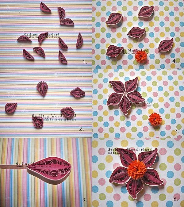 hoa+giay+2 Cách làm hoa trang trí đơn giản từ giấy
