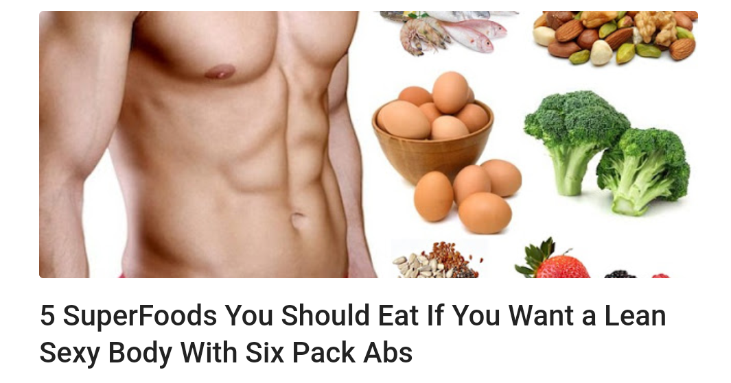 Foods Not To Eat If U Want Abs
