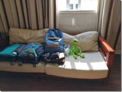 Travelling with Kermit