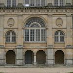 Château d'Ecouen : façade nord