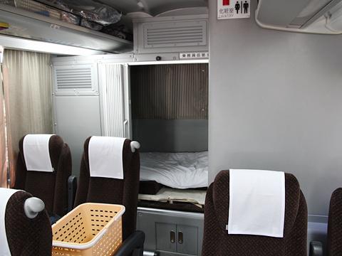 西鉄高速バス「Lions Express」 8546後部乗務員仮眠室
