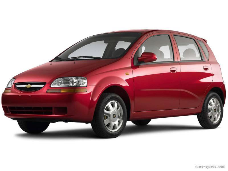 2005 chevrolet aveo hatchback specifications pictures prices. Black Bedroom Furniture Sets. Home Design Ideas