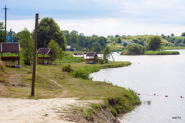 Водойма в селі Грушвиця