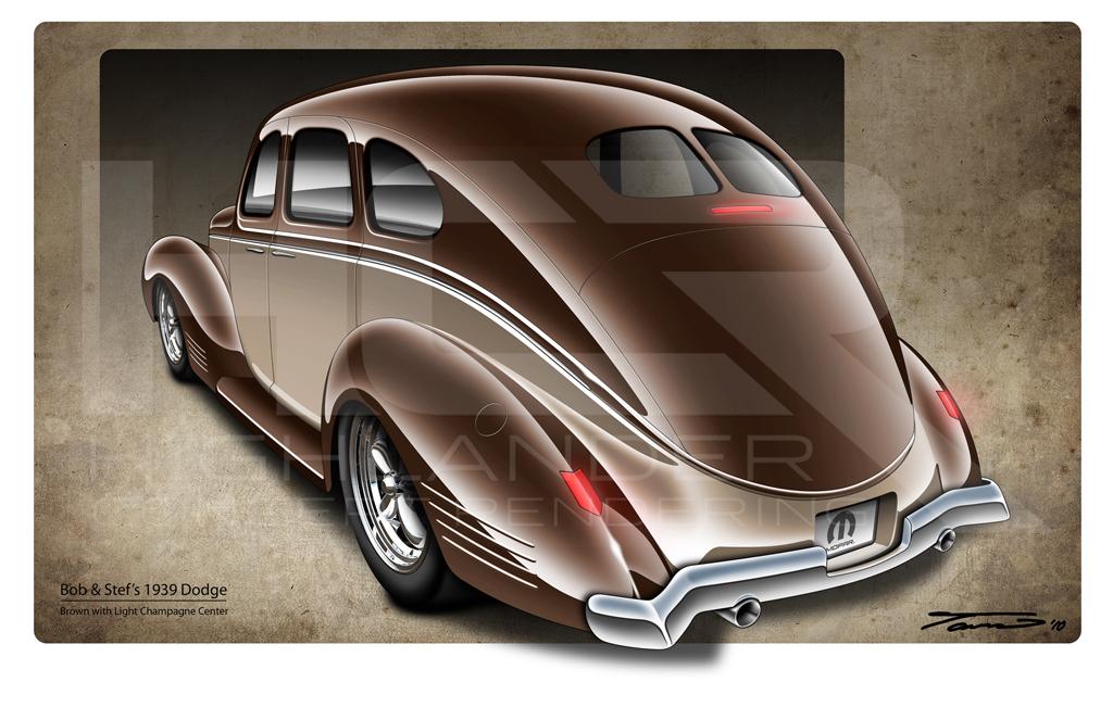 highlander concept rendering refined cruiser 1939 dodge. Black Bedroom Furniture Sets. Home Design Ideas