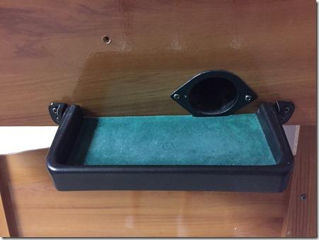 Boccerball broken tray  hinge bracket