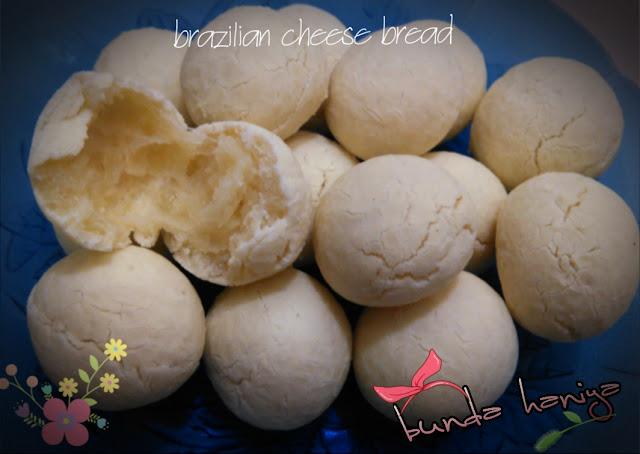 brazilian chese bread / roti keju