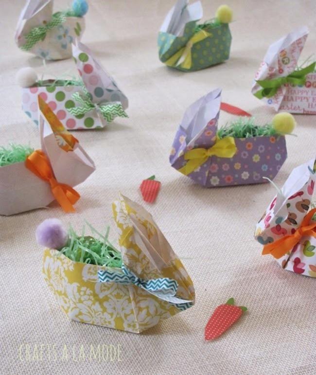bunnies in paper