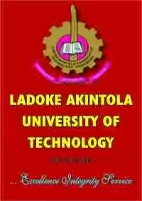 13th Convocation: Important Notice to LAUTECH Graduands