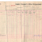 Another image of Tax receipt of T. B. Gleaves 1897