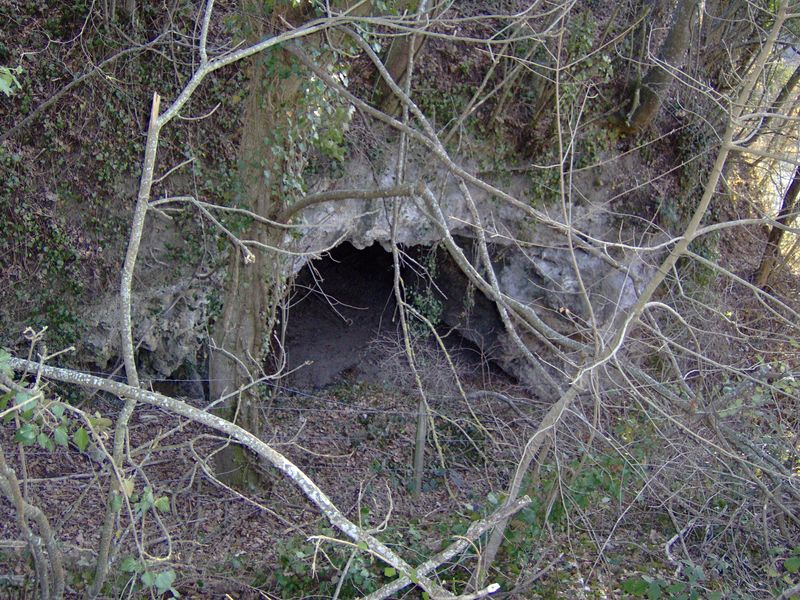 La grotte de la Draye du Benitier
