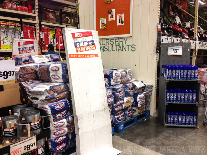 Kingsford Charcoal at the Home Depot